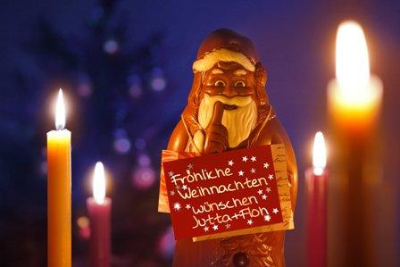 Jutta, Floh und Lili wünschen euch fröhliche Weihnachten!